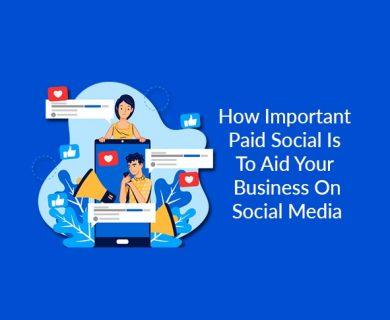 Paid social media ad